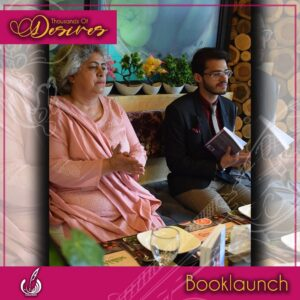 Dr Shaheena Ayub Bhatti and Ali Sheikh at Book Launch of Thousands of desires