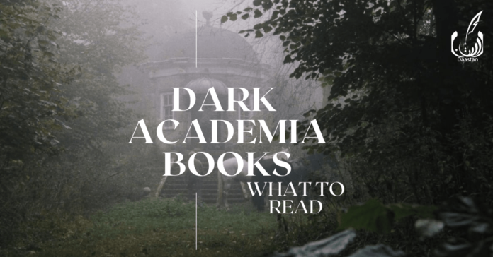 Poster for Dark Academia