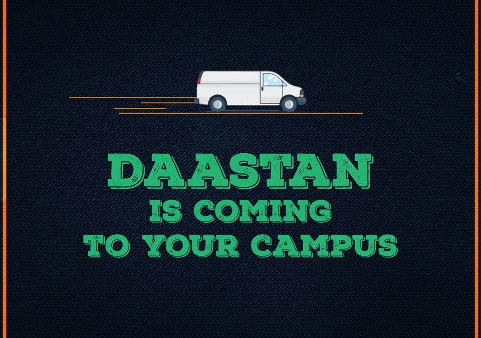 Bringing our Daastan to your Cities through Campus Drives