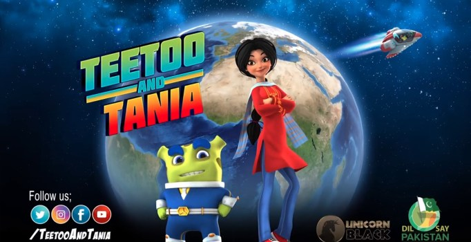 A Pakistani Girl Helps Save the Planet in Teetoo and Tania, a Story Brought to You by Daastan